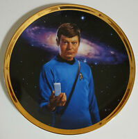 Star Trek Dr. McCoy Plate Hamilton Collection 25th Anniversary Limited Edition