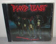 BLOOD FEAST Chopping Block Blues SEALED NEW Orig Colossal CD 1989 Thrash Metal