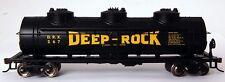 Bachmann HO Scale Train 40' Three Dome Tank Car Deep Rock 17130