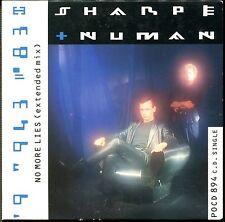 SHARPE AND NUMAN - NO MORE LIES - CARDBOARD SLEEVE CD MAXI
