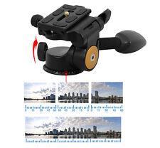 Tête à rotule Micnova panoramique 360° + Poignée pour trépied Max 12kg