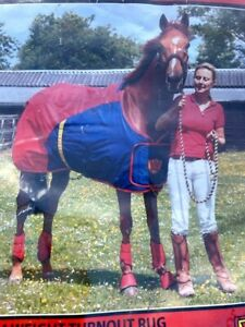Wonder Horse turnout rug medium weight 5.3