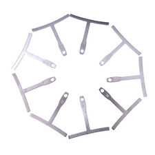 Set of 9 Understring Radius Gauge for Guitar and Bass Setup Luthier Tools LZ