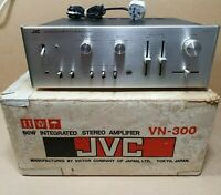 Vintage JVC VN-300 Integrated Stereo Amplifier 60W Boxed