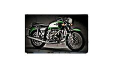 1972 r75 5 Bike Motorcycle A4 Photo Poster