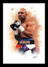 EVANDER HOLYFIELD - BOXING - ARTWORK PORTRAIT - A3 PRINT