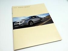 2005 Subaru Impreza RS Sport WRX STi Brochure