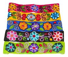 #3245 Hair Accessory One Assorted Headband Head Wrap Hand Made Peru Embroidered