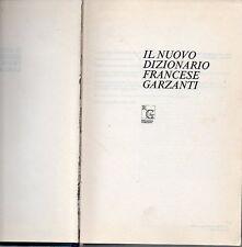 E3 Il nuovo dizionario francese Garzanti 1987