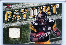"2007 FLEER ULTRA #PD-WP WILLIE PARKER JERSEY JSY ""PAYDIRT""  -PITTSBURGH STEELERS"