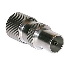 10 x TV Aerial / UHF / Coax Plug Connector