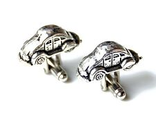 VW Bug Cufflinks - Gifts for Men - Anniversary Gift - Handmade - Gift Box