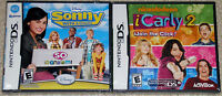 Nintendo DS Lot - Disney Sonny with a Chance (New) Nickelodeon iCarly 2 (New)