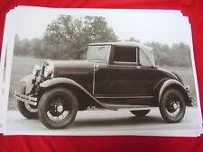 1931 FORD MODEL A CABRIOLET   BIG 11 X 17  PHOTO  PICTURE