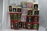 22 Barbie Hallmark Keepsake Ornaments! Christmas Holiday1959 Solo Silken Flame