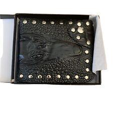 Crocodile Snap Wallet Mens Womens Accesories NIB