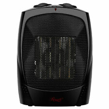 Portable Ceramic Space Heater 1500W Small Room Fast Heating w/ Fan Only Setting
