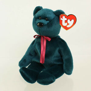 TY Beanie Baby - TEDDY JADE - NEW FACE (3rd Gen Hang Tag - MWMTs)