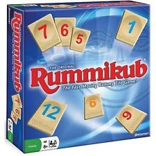 Next Day Delivery Original Rummikub Fun Family Game Tile Board 2 - 4 Players