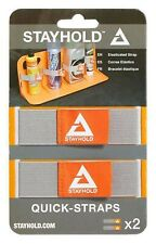 Official VELCRO® Quick Strap Car boot Tidy Holder - Use with STAYHOLD - 2 pack