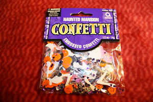 30g  Konfetti Streudeko Halloween und Party Accessoires aus Plastik