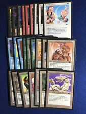 Mtg Antiquities Common Set (25 cards) (No lands) Nm - Mp 1994 release