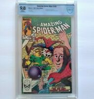 AMAZING SPIDER-MAN # 248 CBCS 9.8 ~ WHITE PAGES ~ just like CGC ~ Classic story