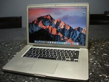 "Apple MacBook Pro A1286 15.4"" Laptop, Intel Core i5 2.4GHZ, 4GB Mem., 500GB HD"