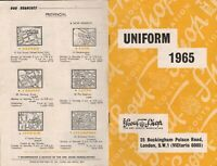 VINTGE BOY SCOUTS UNIFORM CATALOG LONDON 1965