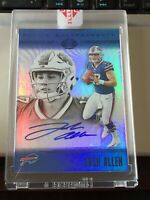 2018 Illusions Josh Allen Rookie Endorsements Auto # 3/15 SSP Bills encased!