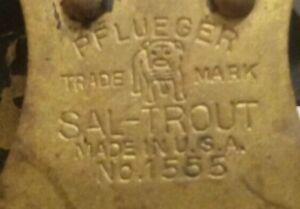 Vintage Pfleuger Sal-Trout 1555
