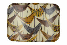 More details for mid century encased fabric fibreglass tray lucienne day style