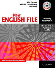 Oxford NEW ENGLISH FILE Elementary MultiPACK B (Files 5-9) with MultiROM @New@