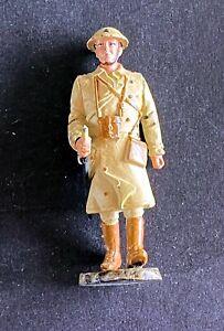 Soldier Lead Del Prado Officer Great Britain 1917