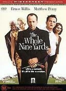 The Whole Nine Yards Bruce Willis very good condition dvd region 4 t616