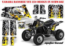 Amr racing décor Graphic Kit ATV yamaha le Hurleur yfz 350 Motorhead B