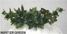 Rose Swag Hunter Green Wedding Table Centerpiece Silk Flowers Arch Gazebo Decor