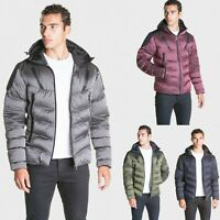 883 Police Mens Padded Puffer Bubble Warm Hooded Designer Bomber Wally Jacket