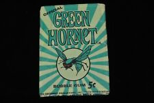 Authentic 1960's Official GREEN HORNET Bubble Gum Wax Pack Trading Cards 5 Cent