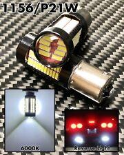 White Backup Reverse P21W 1156 BA15S 7506 5007 5008 1141 106 SMD LED Bulb A1 X