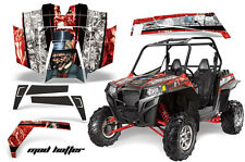 AMR Racing Polaris RZR 900XP Sticker Graphic Kit Decal UTV Parts 11-14 MAD HTR R