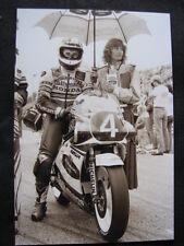 Photo Rothmans Honda NSR250 #4 Anton Mang (GER) GP Sweden Anderstorp 1987 #1