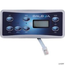 Balboa Standard Digital Spa Hot Tub Control Panel Keypad 54170-01