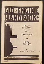 Glo Engine Handbook Theory Practice & Operation of Glow Engines Winston 1956