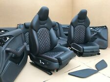 Audi A6 4G C7 S6 S-Line COMPETITION Lederausstattung Leder Sitze Leather ROT