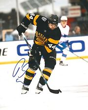 DENNIS SEIDENBERG signed BOSTON BRUINS 8X10 WINTER CLASSIC photo w/ COA