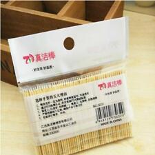 200pcs Bamboo Toothpicks Cocktail Appetizer Sticks Disposable Tooth Pick JJ