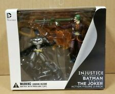 "INJUSTICE BATMAN VS JOKER 2 PACK ACTION FIGURE 4"" INCH (UNOPENED,FACTORY SEALED)"