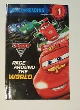 Cars 2 Race Around the World Step Into Reading Level 1  Disney Pixar Book