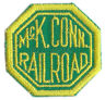 Patch- McK Conn Railroad  #12874  -NEW- Free Shipping